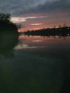 Sunrise on the Savannah River